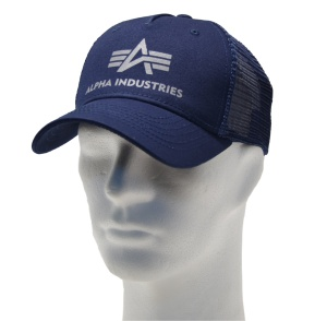 Alpha Industries Basic Trucker Cap 186902 in dunkelblau