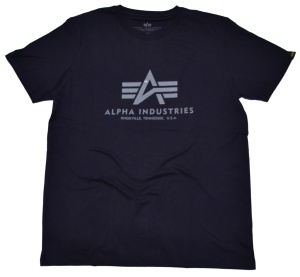 Alpha Industries T-Shirt 100501 Classic T in dunkelblau