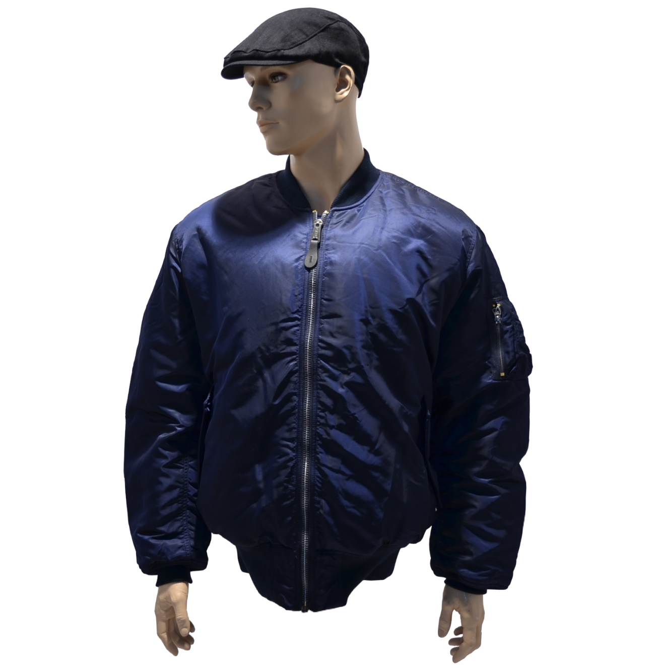 Alpha Industries MA1 Fliegerjacke in rep. blue