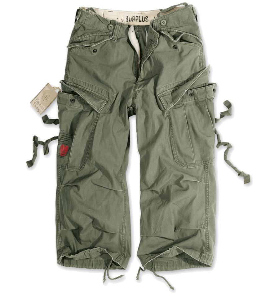 Vintage Enigeer 3/4 Army Short