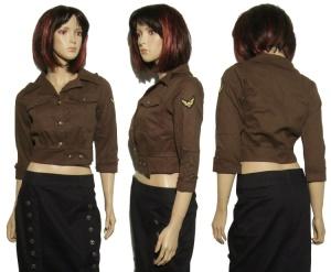 Military Jacke Damen