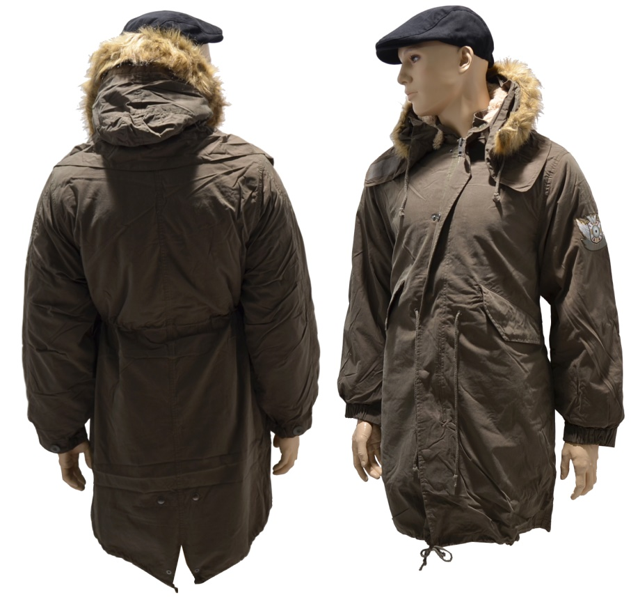 Warrior Clothing Fishtail Parka