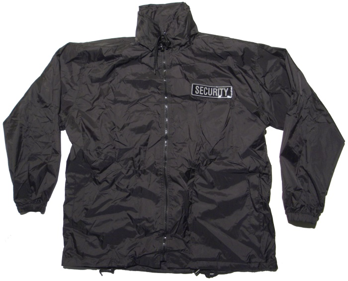 Security Windbreaker Jacke