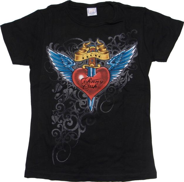 Johnny Cash Girl Shirt