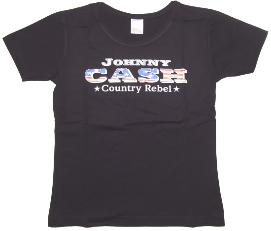 Girl Shirt J. Cash Country Rebel