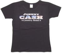 J. Cash Girl Shirt Country Rebel