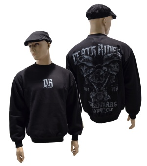 Dobermans Aggressive Sweatshirt Death Riders Bikermotiv