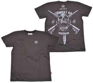 Dobermans Aggresive T-Shirt Combat 44 in grau