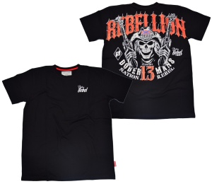 Dobermans Aggressive T-Shirt Rebellion Gunman
