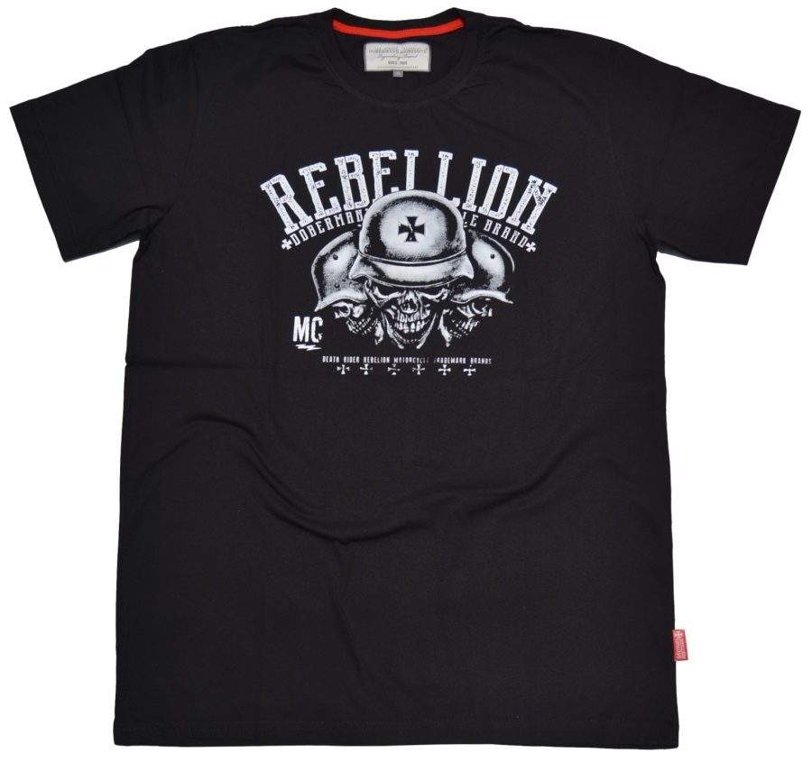 Dobermans Aggressive T-Shirt Rebellion MC II