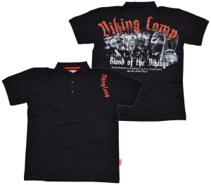 Dobermans Aggressive Urbanwear Polo-Shirt Viking Comp