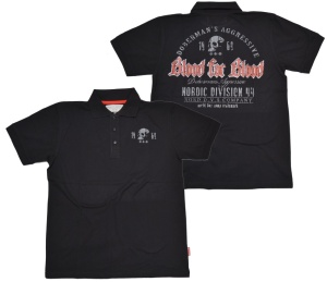 Dobermans Aggressive Poloshirt Blood For Blood