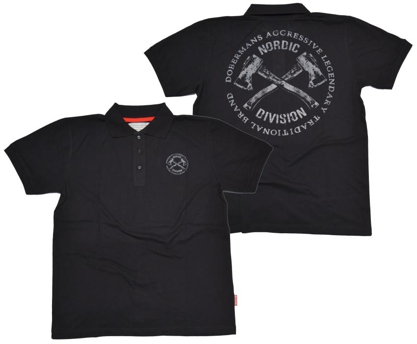 Dobermans Aggressive Poloshirt Nordic Division 6