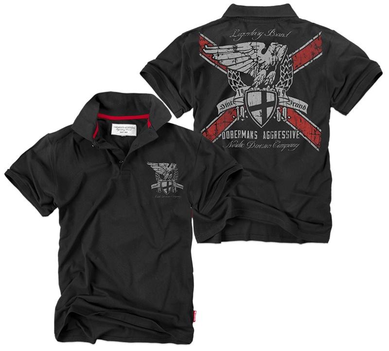 Dobermans Aggressive Poloshirt Nordic Division Company