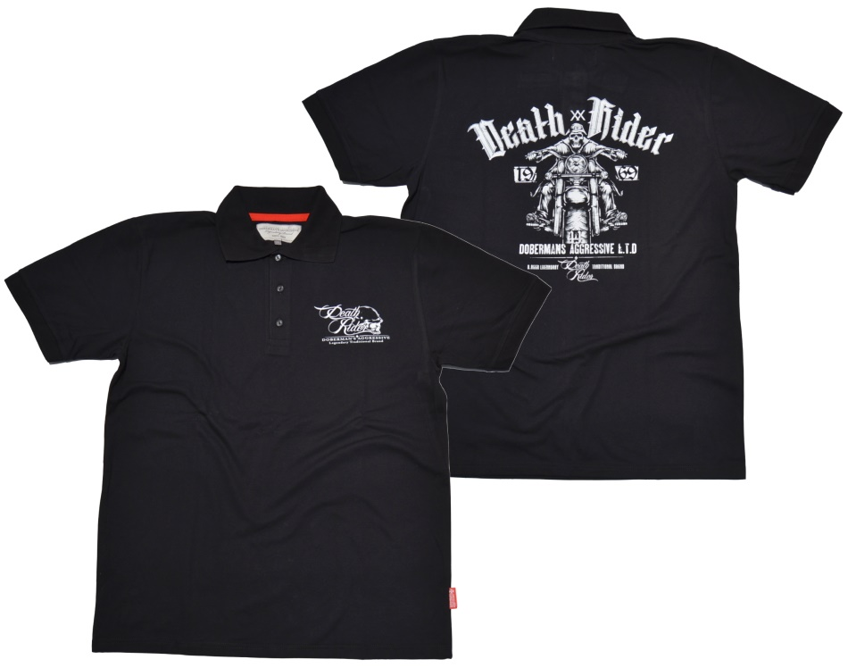 Dobermans Aggressive Polo-Shirt Death Rider