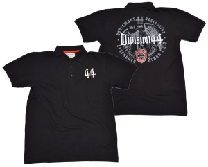 Dobermans Aggressive Polo-Shirt Division 44