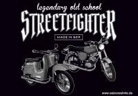 Aufkleber Streetfighter - gratis