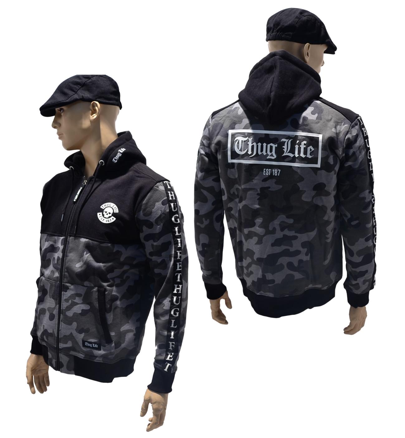 Thug Life Kapuzenjacke Wired
