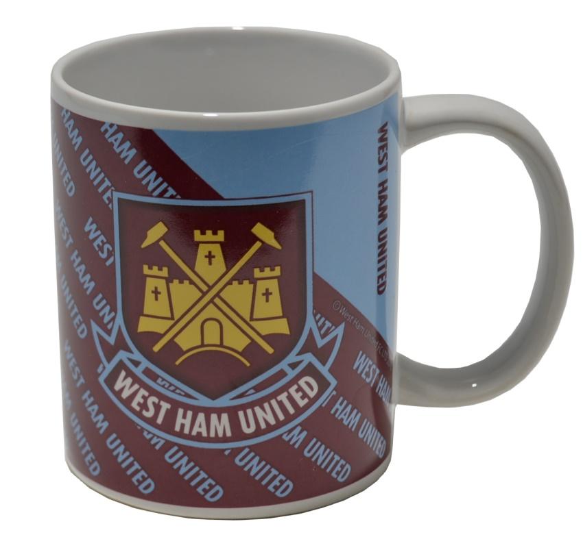 Keramik Tasse West Ham United
