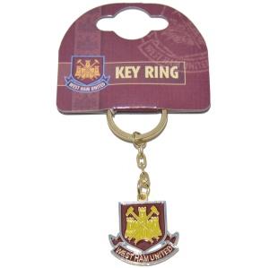 Metall Schlüsselanhänger West Ham United