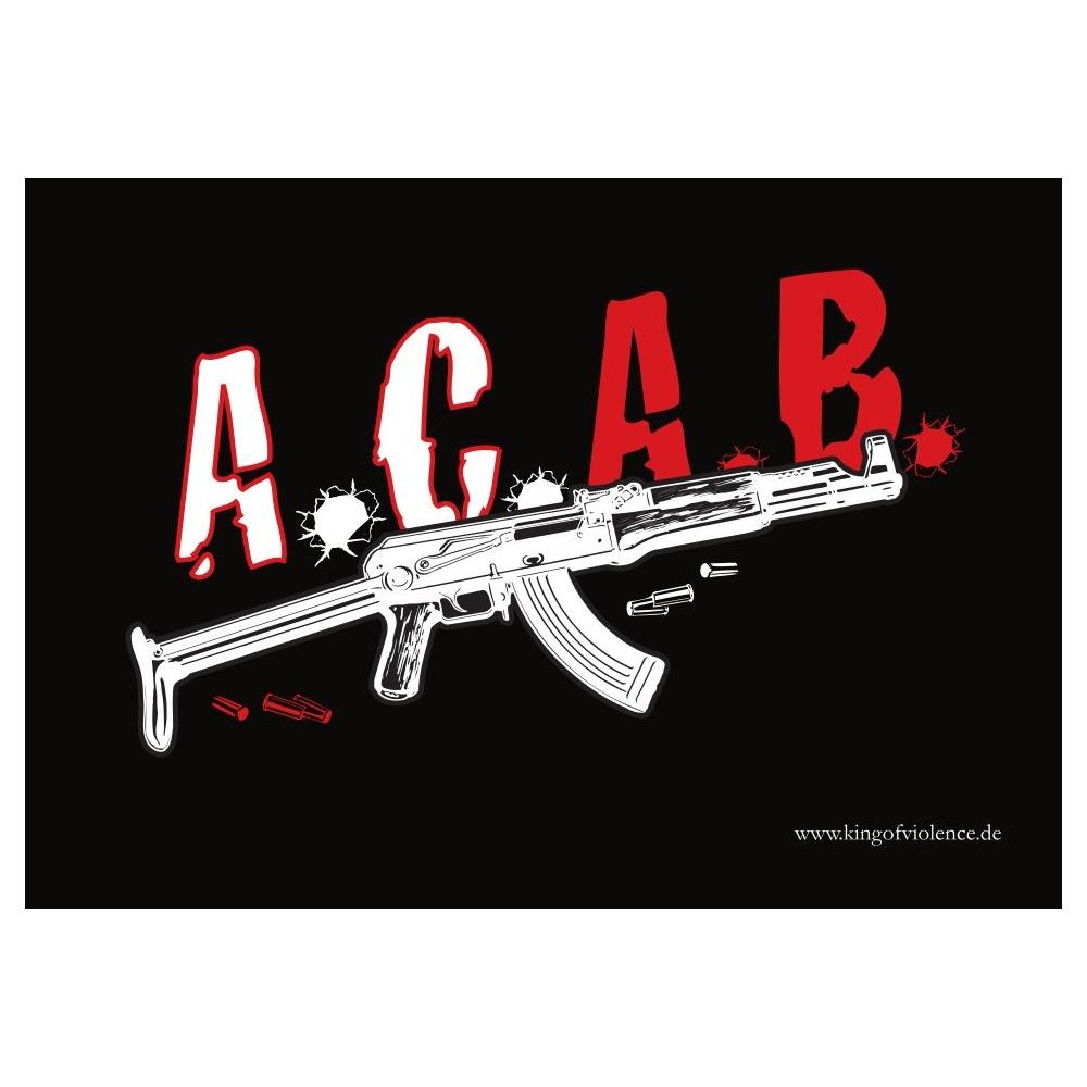 Aufkleber A.C.A.B. 10er Pack