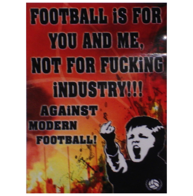 Aufkleber AMF Against Modern Football 5er Pack