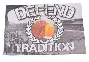 Aufkleber Defend Tradition
