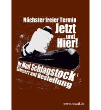 Aufkleber Dr. Med Schlagstock 10er Pack