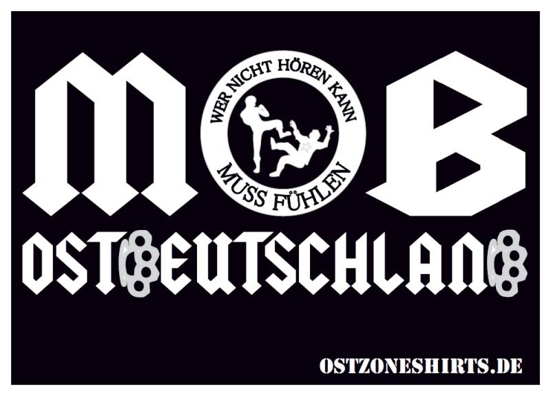 Aufkleber Mob Ostdeutschland 10er Pack