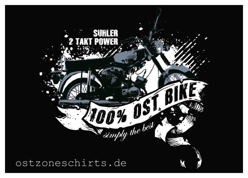 Aufkleber Ost Bike 10er Pack
