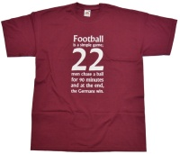 T-Shirt Football is a simple game