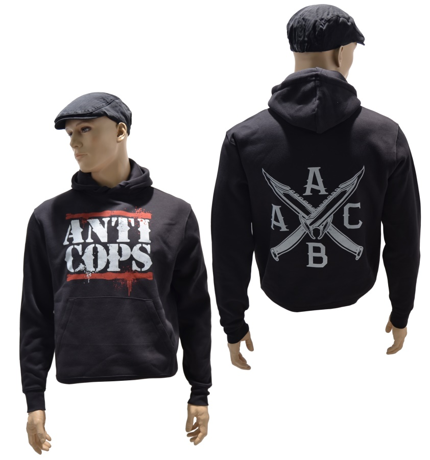 Kapuzensweatshirt Anti - Cops