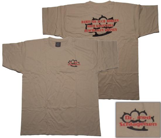 T-Shirt Dr. Med Schlageisen