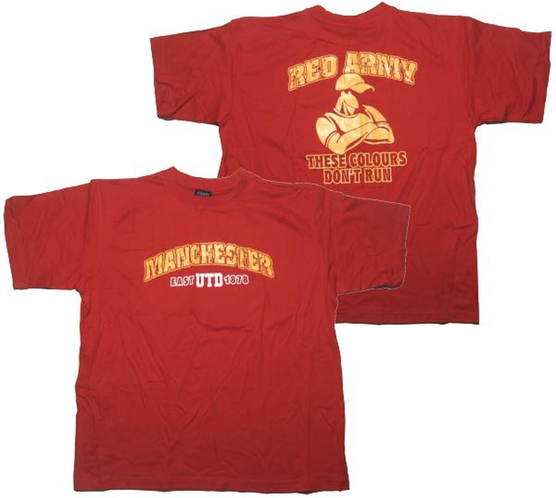 T-Shirt Manchester Red Army