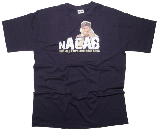 T-Shirt N.A.C.A.B. Not All Cops Are Bastards