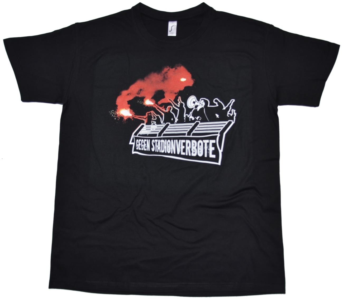 T-Shirt Gegen Stadionverbote