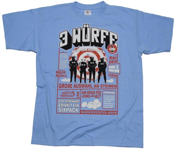 T-Shirt 3 W�rfe 1 Euro