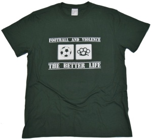 T-Shirt Football And Violence