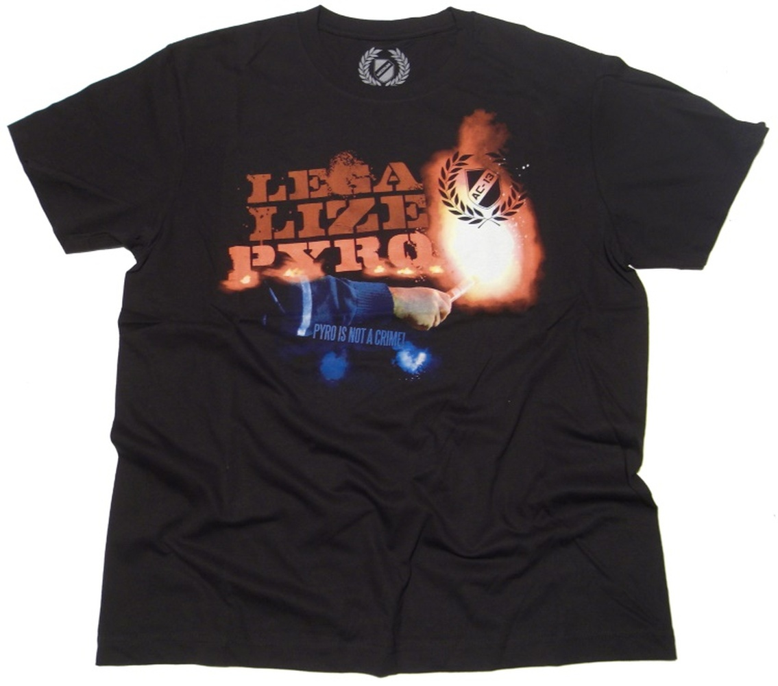 T-Shirt Legalize Pyro