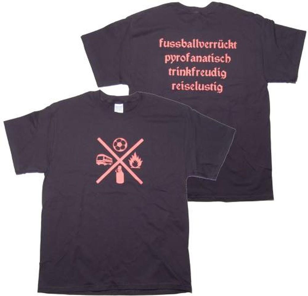 T-Shirt Fussballverrückt