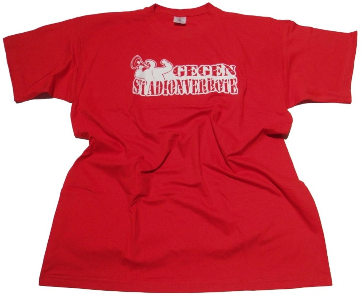T-Shirt Gegen Stadionverbote Megaphone 2