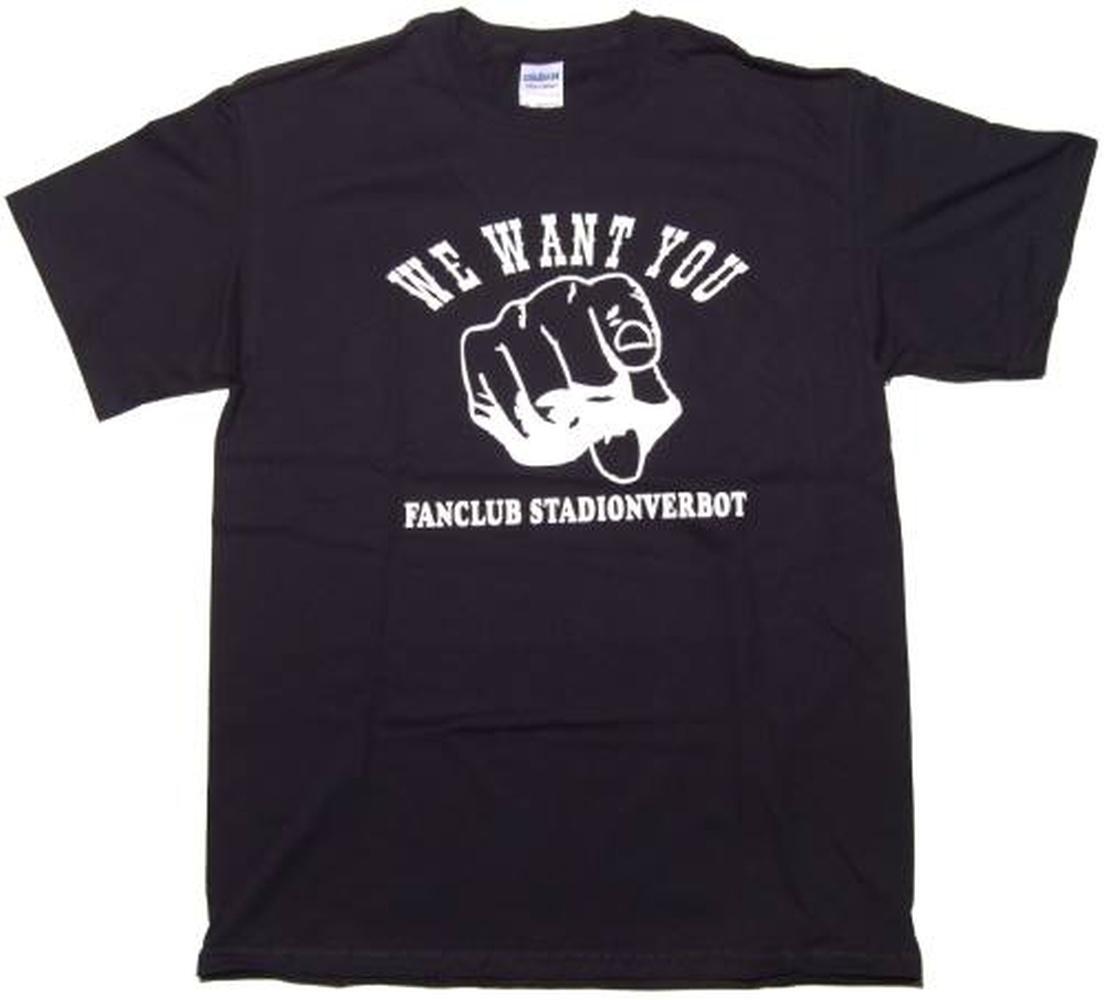 T-Shirt Fanclub Stadionverbot