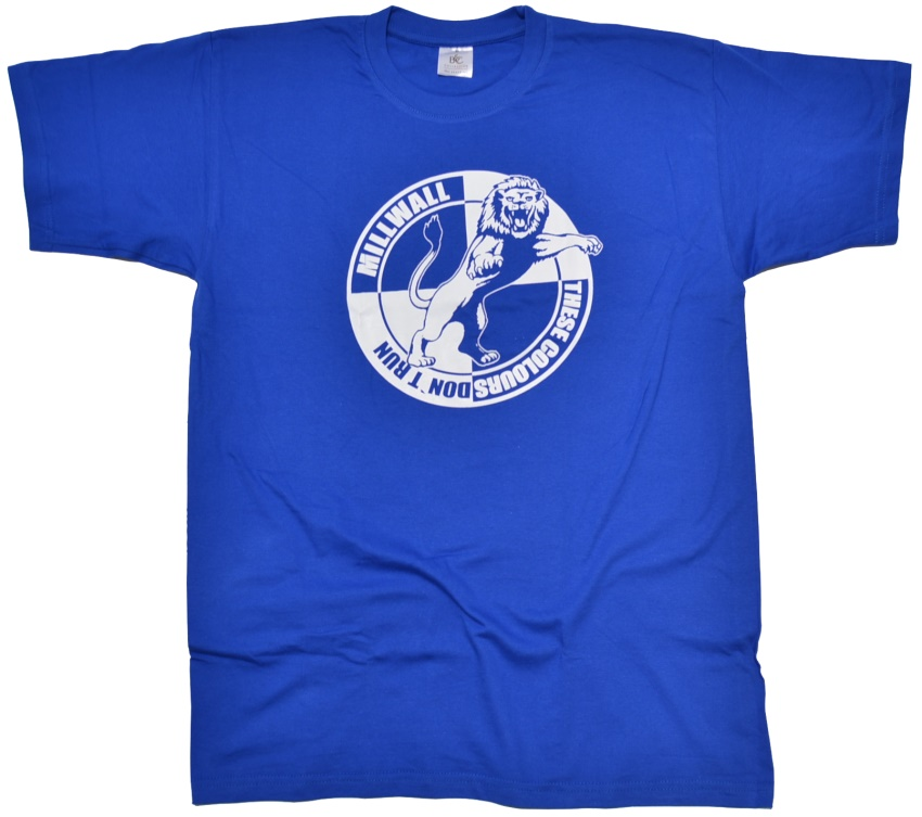 T Shirt Millwall These Colors Dont Run Rascal Clubs