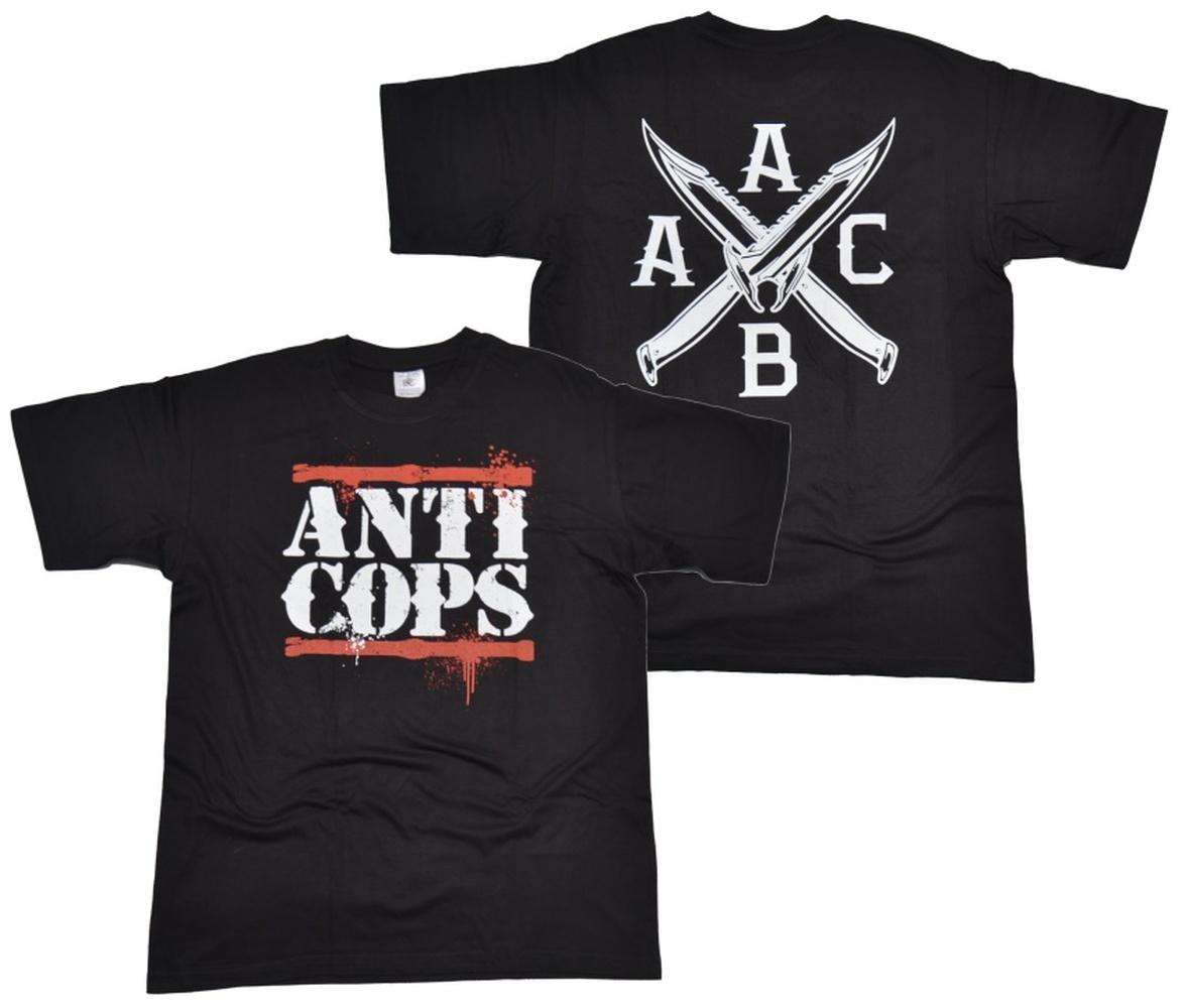 T-Shirt Anti - Cops