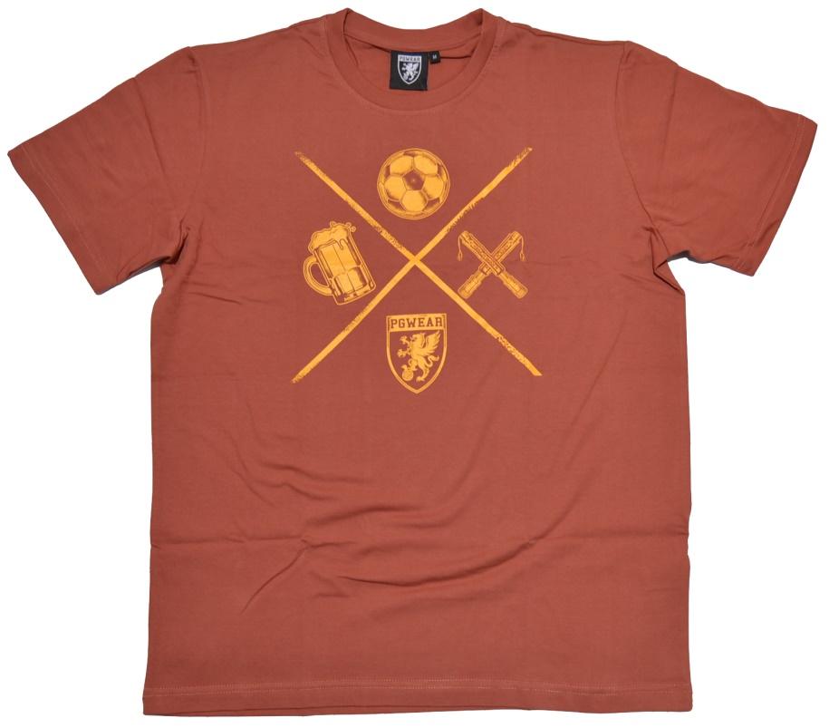 PG Wear T-Shirt Fußball-Bier-Pyro