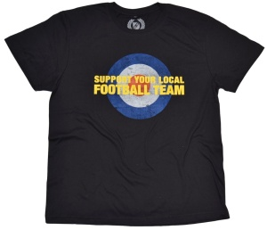 T-Shirt Support Your Local Football Team Target