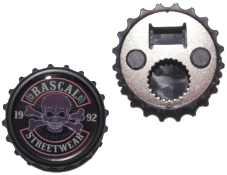 Kapselheber/Flaschen�ffner Rascal Streetwear 1992