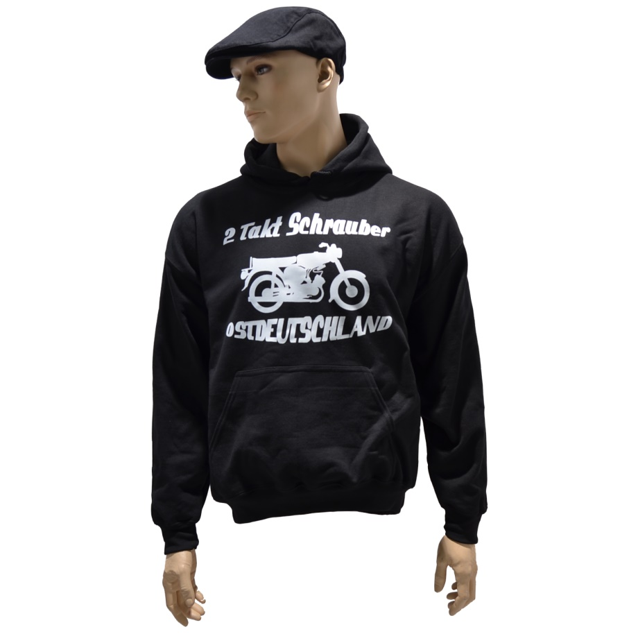 Kapuzensweatshirt 2 Takt Schrauber