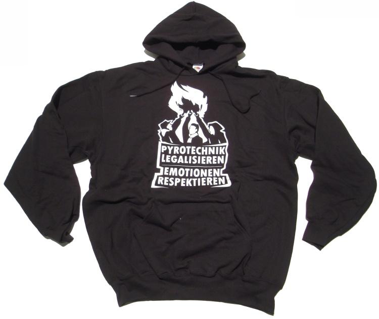 Kapuzensweatshirt Pyrotechnik legalisieren