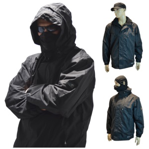 Location Einsatz Regenjacke Outdoorjacke ROCK Maske